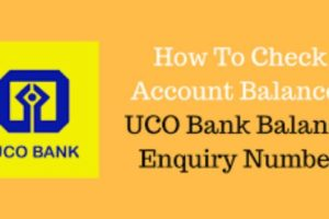 UCO Bank Balance Enquiry