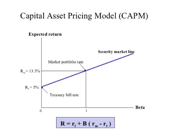 Capital-Asset-Pricing-Model