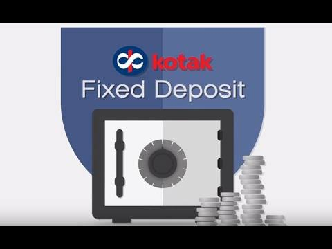 Kotak Mahindra Bank Fixed Deposit Rates