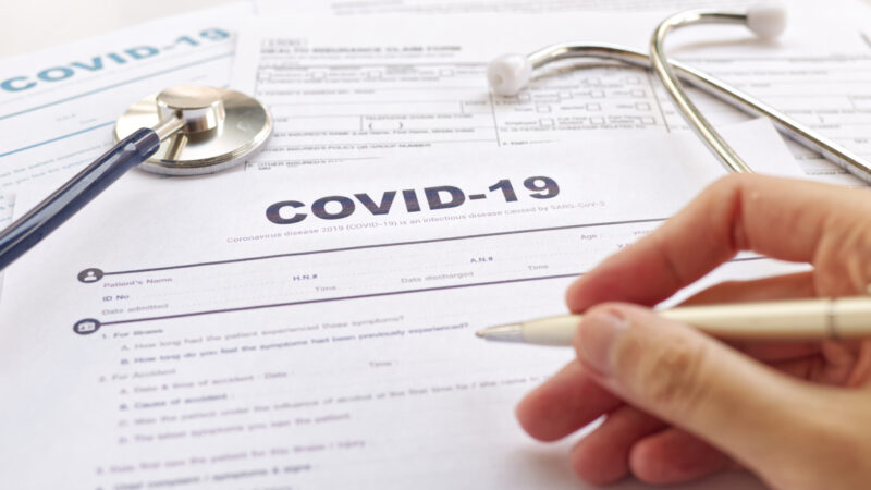 short-term health insurance cover for COVID-19