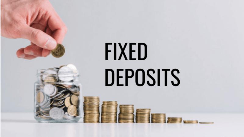 Zeroing on Fixed Deposit Account