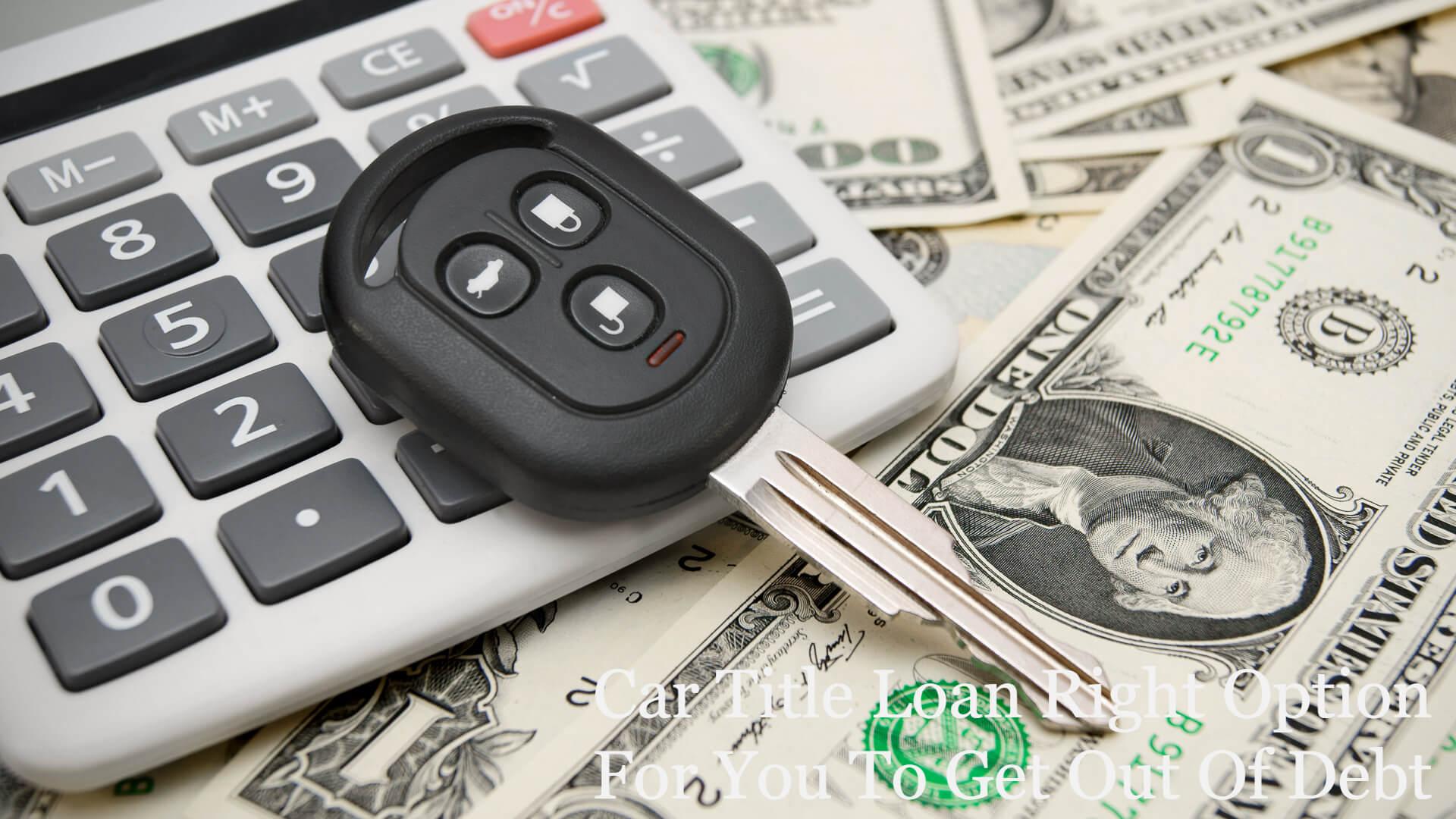 What Is a Car Title Loan? Car title Loan vs Payday loan
